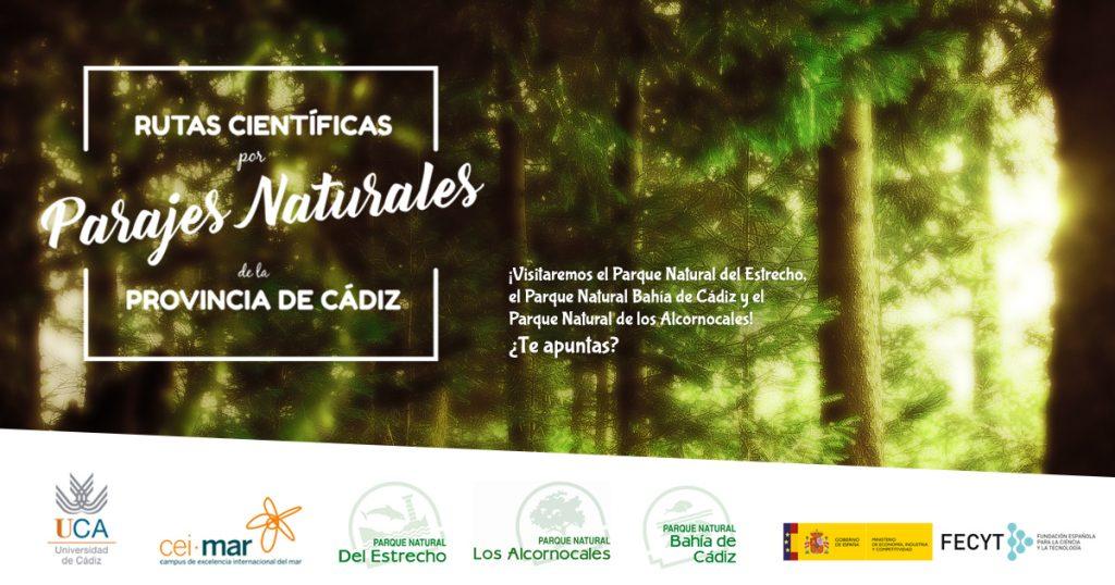 Rutas Científicas por Parajes Naturales de la Provincia de Cádiz