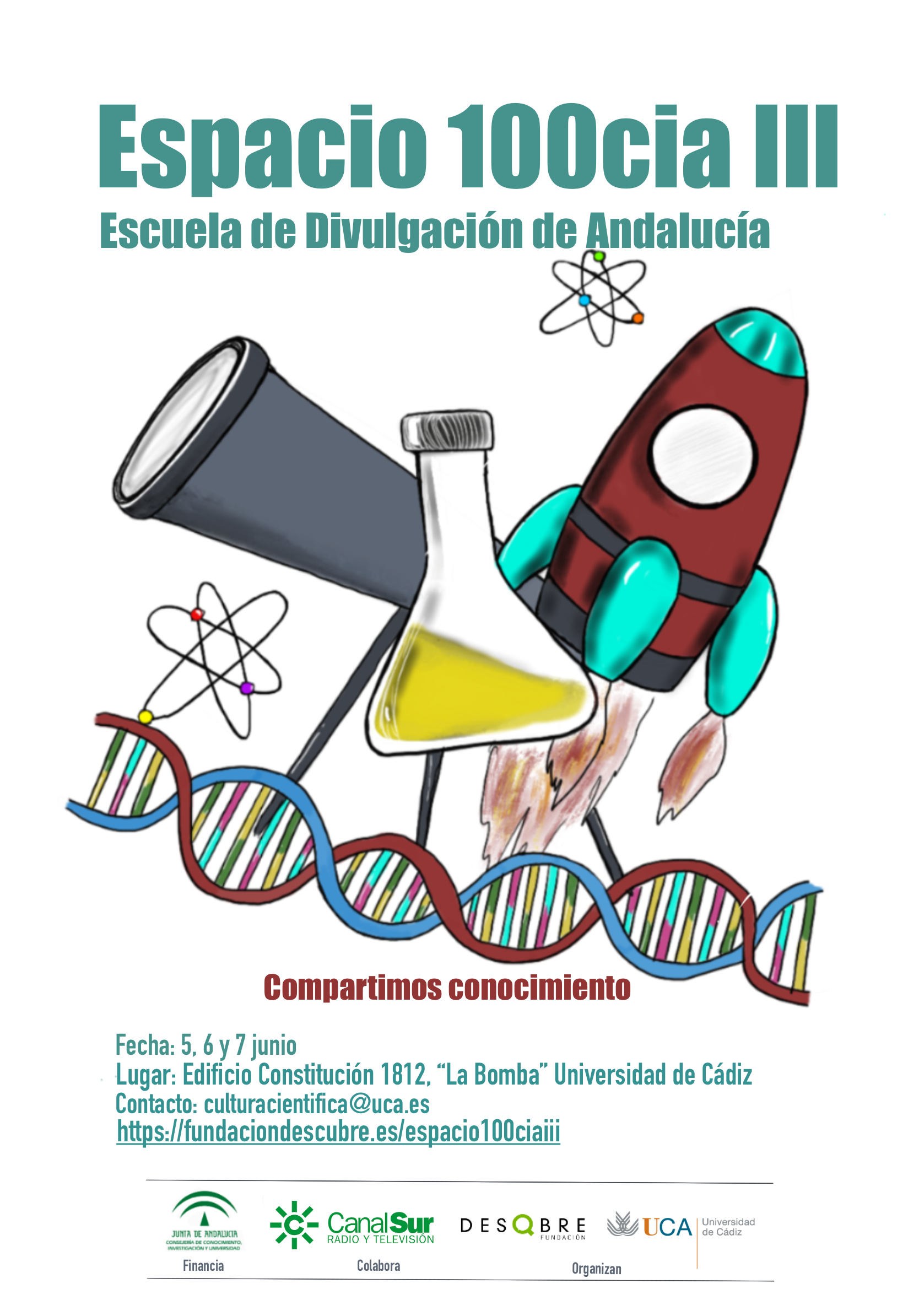 Espacio 100cia III. Escuela de Divulgación de Andalucía